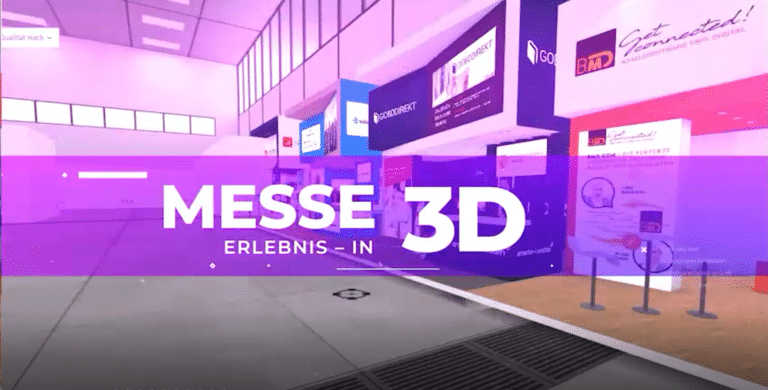 Fairsnext Virtuelle Messe in 3D
